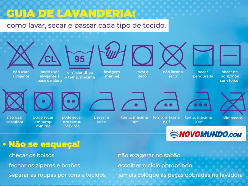 guia de lavanderia