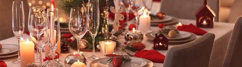 Dicas para montar a sua mesa de Natal