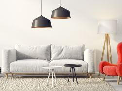 Dicas para combinar sofá e poltronas de maneira harmoniosa.