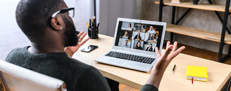 Dicas para arrasar nas reuniões on-line